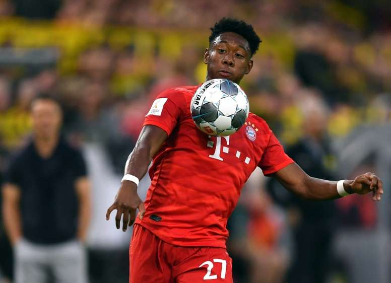 Real Madrid are serious about getting Alaba, but PSG also want him. AFP