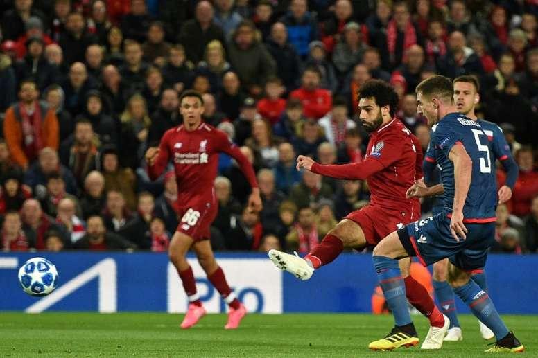Salah a été choisi par l'instance internationale. AFP
