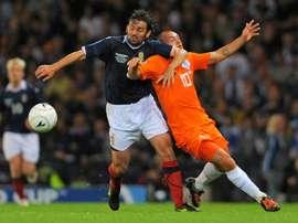 Dundee sack manager Paul Hartley. AFP