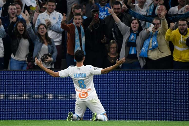 Marseille won 2-1. AFP