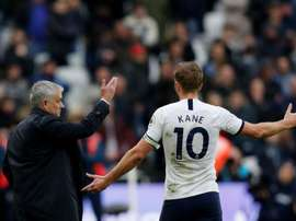 Kane could leave Tottenham. AFP