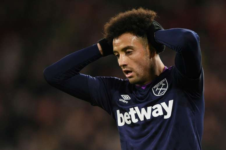 Felipe Anderson is expected to be out for longer than first thought. AFP