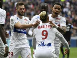 Lyon are battling for a place in next season's Champions League. AFP