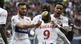 Lyon goleia Amiens. AFP