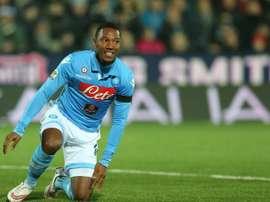 The 28-year-old Dutch international Jonathan De Guzman has joined the Verona team Chievo on loan from Napoli