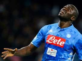 Le PSG connaît le prix de Koulibaly. AFP