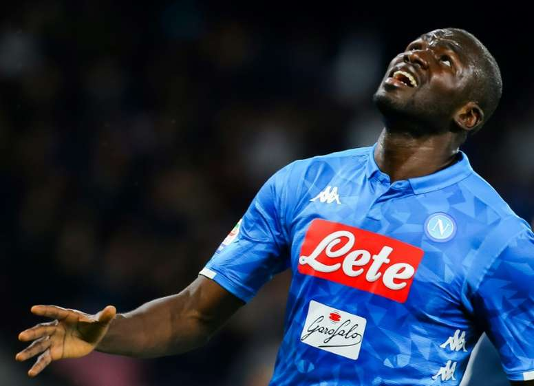 Koulibaly could land at Old Trafford any time soon. AFP