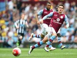 El Aston Villa está a punto de oficializar un fichaje. AFP