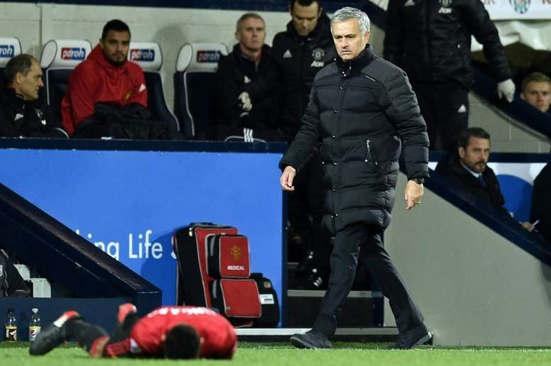 Jose Mourinho endured a difficult start to life in Manchester. AFP