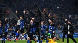 A Inter de Milão goleia o Milan no Derby Della Madonnina. AFP