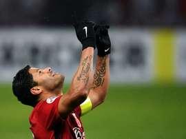 O detalhe que impede a chegada de Hulk ao Galatasaray. AFP