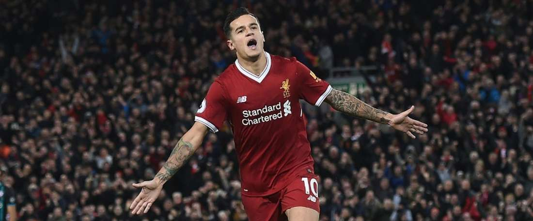 Coutinho told 'Soccer AM' his dream five-a-side team. AFP