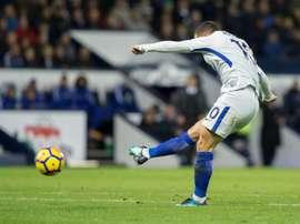 Hazard sera présent contre Qarabag. AFP