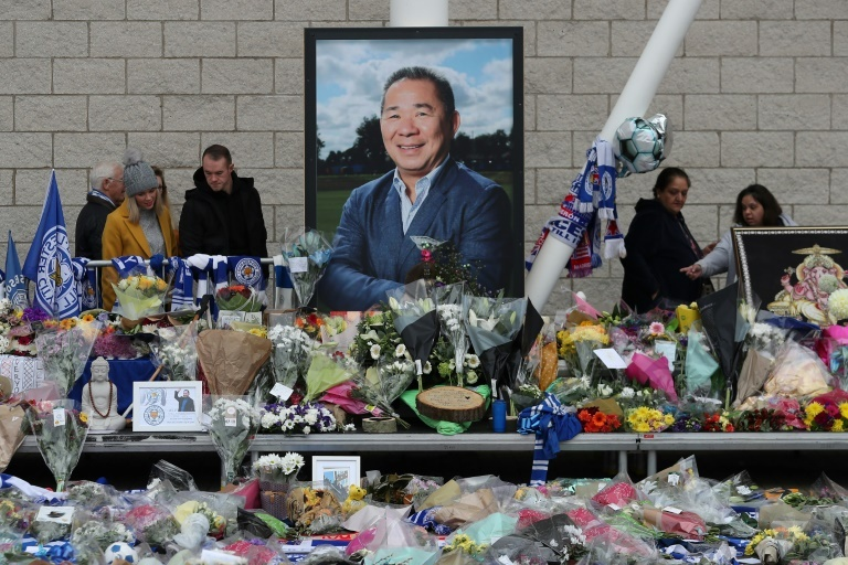 Leicester City owner's tragic helicopter crash recorded on video