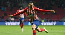 El Atlético rechazó la última oferta por Correa. AFP
