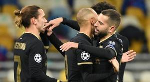 Le groupe du Barça pour affronter Ferencváros. AFP
