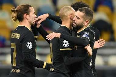 Il Barça supera la Dinamo. AFP
