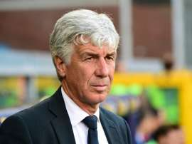 Gasperini will have Bastoni in his Atalanta side for the next two years. AFP