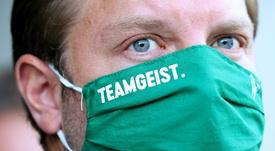 Werder Bremen have taken another pay cut. AFP