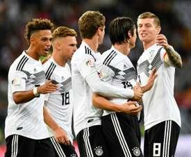 La firma del nuevo contrato supondrá una inyección económica para los germanos. AFP
