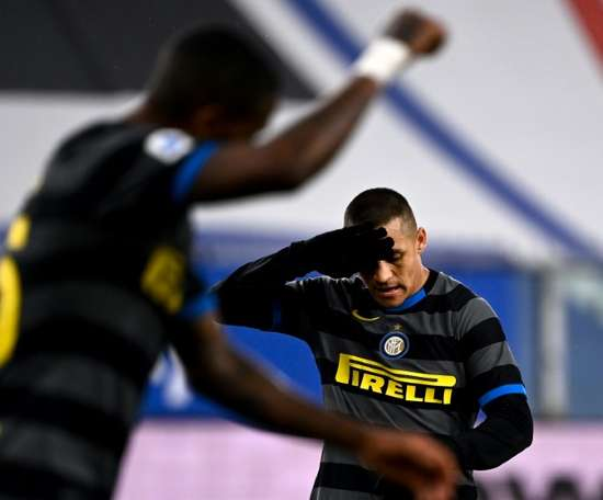 Inter Milan were beaten 2-1 away to Sampdoria on Epiphany. AFP