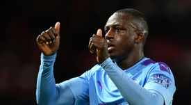 Benjamin Mendy, en quarantaine pour une possible contagion au coronavirus. AFP