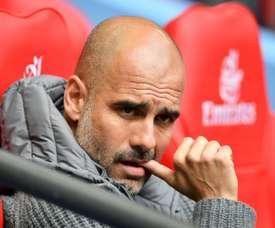 Pep Guardiola quer contar com Bonucci no City. AFP