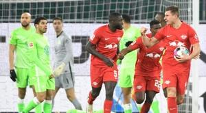 RB Leipzig loan Eric Martel to Austria Vienna. AFP