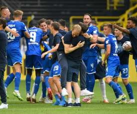 Sebastian Hoeness, Uli's nephew, has become the new Hoffenheim boss. AFP