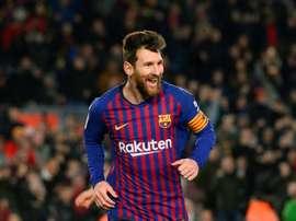 Messi volta aos convocados. AFP