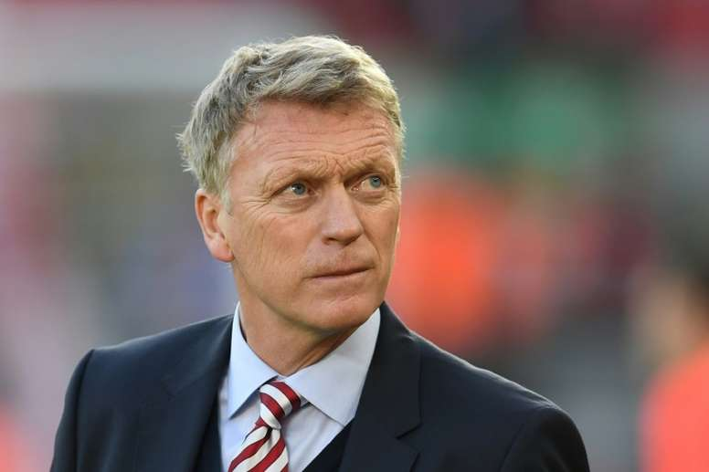 David Moyes took charge at Sunderland in July. AFP