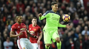 Valencia spoke about an error with Mourinho. AFP