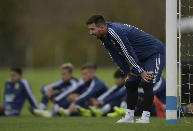 Messi a toujours faim. AFP