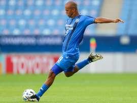 Junior Negão e seu impressionante desempenho. AFP