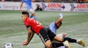 Almiron, Martinez strike as Atlanta advance