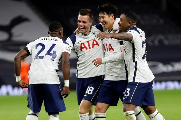 Tottenham poderia castigar Lo Celso e Romero.AFP