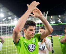 Mario Gómez assinou pelo Stuttgart. AFP