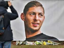 Emiliano Sala's family will mark the anniversary of his death quietly and privately. AFP