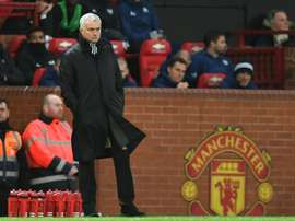 Praise for Mourinho, dig for Manchester United. AFP