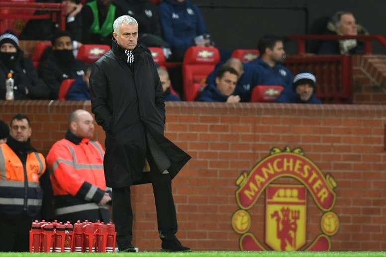 Praise for Mourinho, dig for Manchester United. AFP