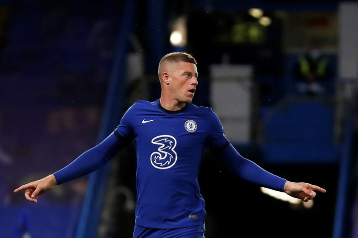 Ross Barkely is one of three Chelsea players without a squad number for the 2021/22 season. AFP
