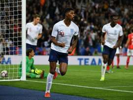 Rashford scored the game's only goal. AFP