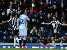 Newcastle survive Blackburn scare, Wednesday earn Chelsea clash