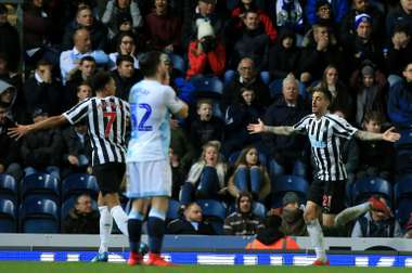 Newcastle survive Blackburn scare, Wednesday earn Chelsea clash