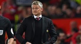 Solskjaer est revenu sur la période délicate de Manchester United. AFP