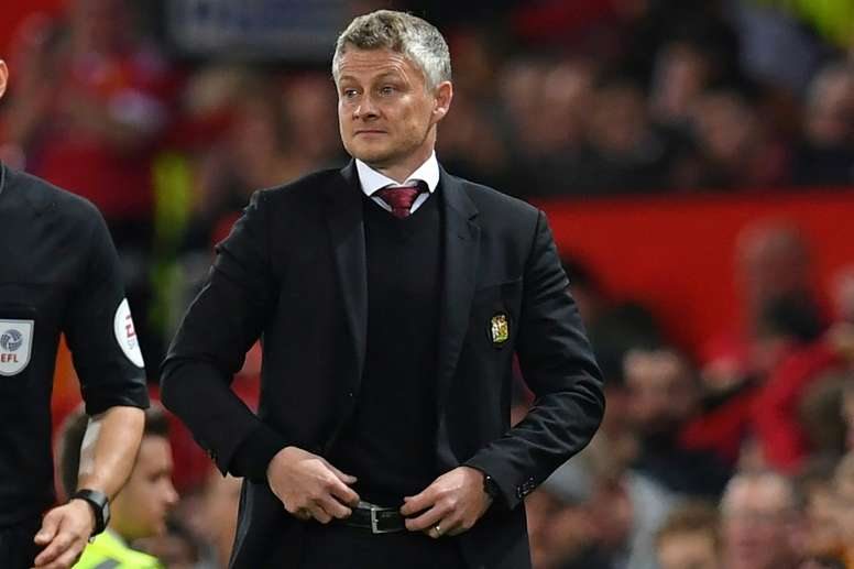 Sources in England claim that Ole Gunnar Solskjaer's job has not reached breaking point yet. AFP