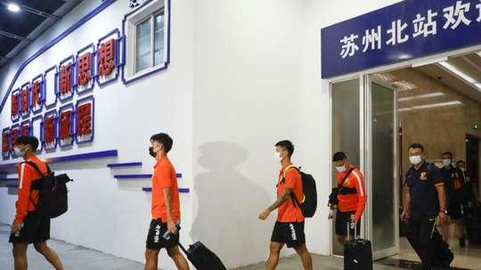 China's Wuhan Zall set for emotional return as coronavirus-hit season starts. AFP