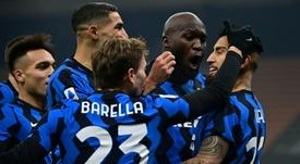 L'Inter crédibilise ses ambitions en dominant la Juventus. AFP