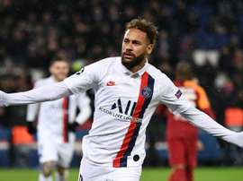 Neymar makes impression as PSG crush Galatasaray. AFP