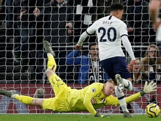 Alli double sends Mourinho's Tottenham up to fifth. AFP